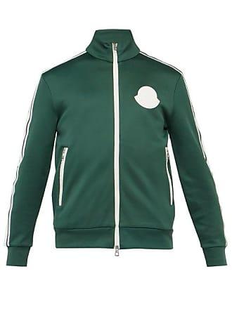 8a632cfb6fc Moncler Veste de jogging zippée à empiècement logo