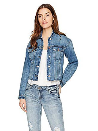 Joe's Womens Cut Off Denim Jacket, Dyanna, M
