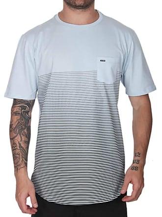 Wave Giant Camiseta Wg Stripe Points - Azul Bebê - M