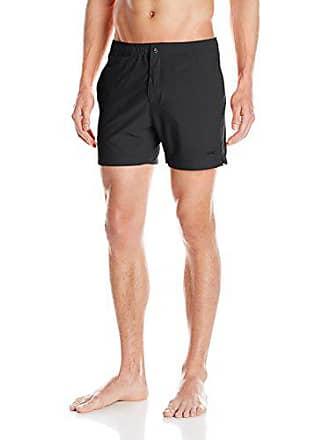 d4fb9132adf43 Parke   Ronen Mens Naples Solid 5-Inch Stretch Swim Short