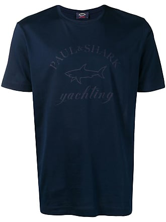 Paul & Shark Camiseta com logo - Azul