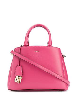 DKNY logo charm tote bag - Rosa