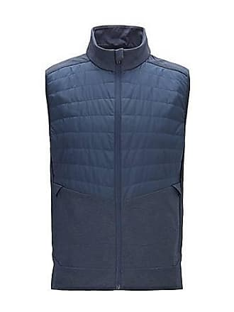 f50529473e9 BOSS Slim-fit water-repellent gilet with lightweight PrimaLoft padding