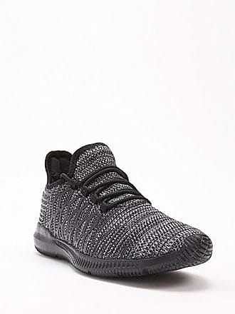 21 Men Men Mesh-Knit Sneakers at Forever 21 Black