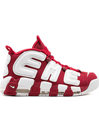 SUPREME Air More Uptempo / Nike x Supreme sneakers - Red