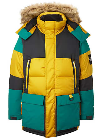 e061832088dd The North Face Vostok Faux Fur-trimmed Padded Ripstop Hooded Down Parka -  Multi