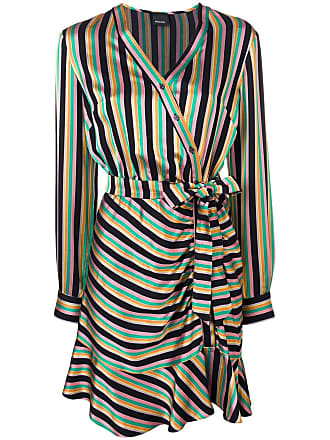 Pinko multicoloured striped dress - Black