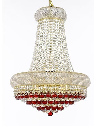 Gallery T22-2669 15 Light 24 Wide Crystal Empire Chandelier with