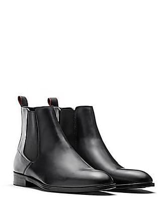 ed2e80ef021 HUGO BOSS Chelsea Boots aus Leder mit Ledersohle