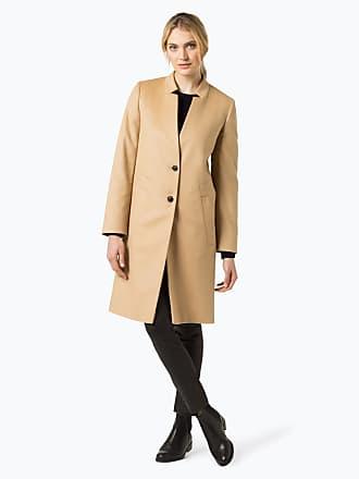 d6330428bc42e4 HUGO BOSS Damen Mantel mit Cashmere-Anteil - Magrete beige