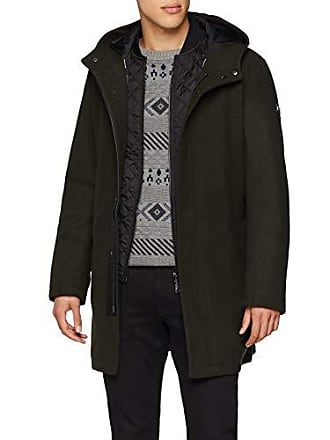 A|X Armani Exchange Mens Quilted Down Jacket, peat, M