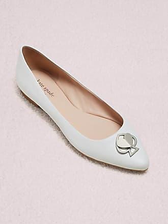 Kate Spade New York Noah Flats, White - Size 9