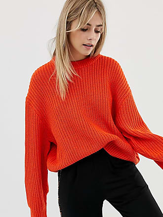 Weekday Huge Knit Sweater - Red