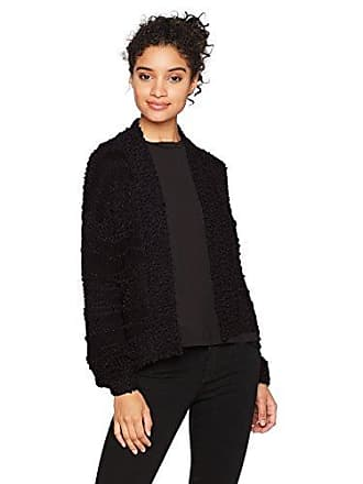 Billabong Womens Just for You Open Cardigan, Black, M
