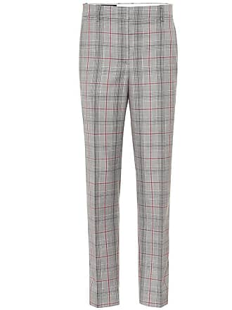 CALVIN KLEIN 205W39NYC Plaid wool pants