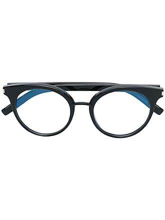 Saint Laurent Eyewear Óculos redondo - Preto