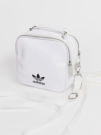 2f6b429c4ec12 adidas Originals Mochila de cuero blanco de adidas Originals