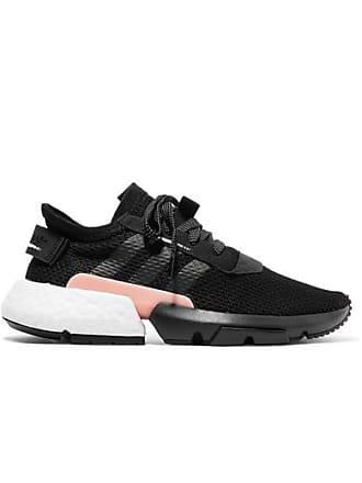 hot sale online eec69 84183 adidas Originals Pod-s3.1 Primeknit Sneakers Mit Besatz Aus Veloursleder -  Schwarz