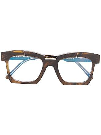 Kuboraum Armação para óculos Mask EK5 - Marrom