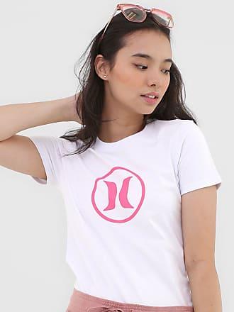 Hurley Camiseta Hurley Icon Circle Branca