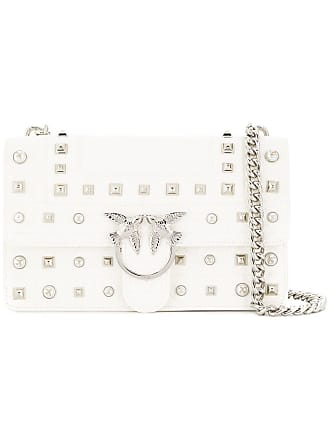 Pinko Love shoulder bag - White