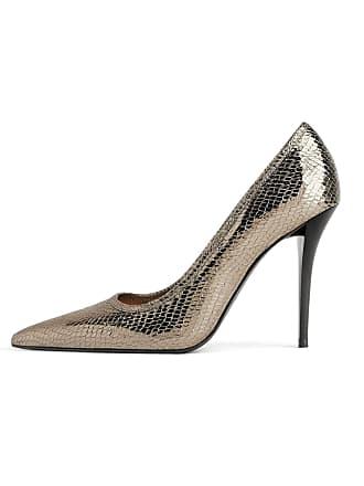 fea7a1fd5ba ZARA Womens Shiny Animal Print high Heel Shoes 3213 001 (6 UK) Black