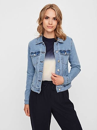 Vero Moda Performance Denim Jacke - Hellblaues Denim