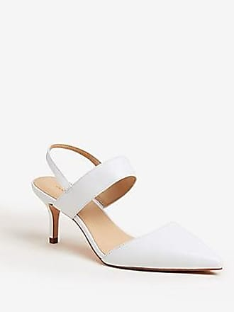ANN TAYLOR Theodora Leather Slingback Pumps
