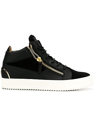 Giuseppe Zanotti side-zip sneakers - Black