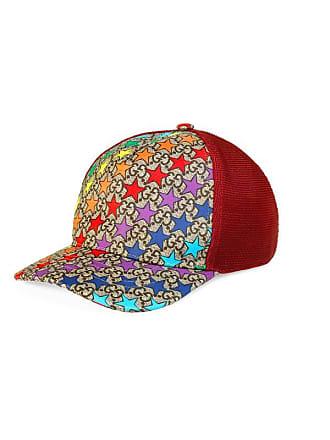 297f4d6b4b9a3 Gucci Childrens GG rainbow star hat