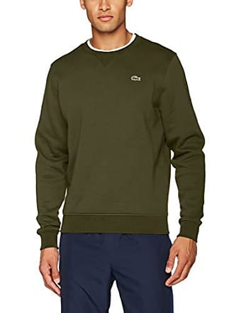 e35afadc26 Lacoste Sport SH7613 Sweat-Shirt Homme Vert (Vert G6k) X-Small (