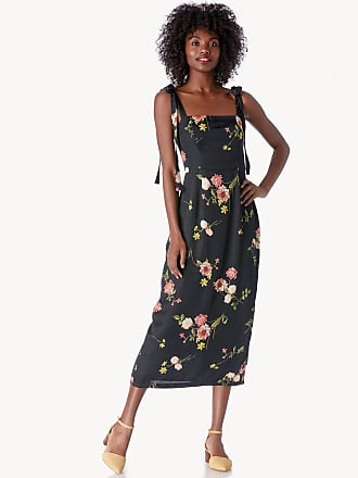 1a35bc99c4c0 Capulet Womens Camille Midi Dress In Color: Black Floral Size Large From  Sole Society