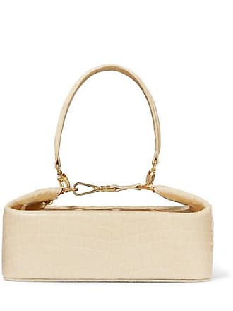 Rejina Pyo Olivia Croc-effect Leather Tote - Cream