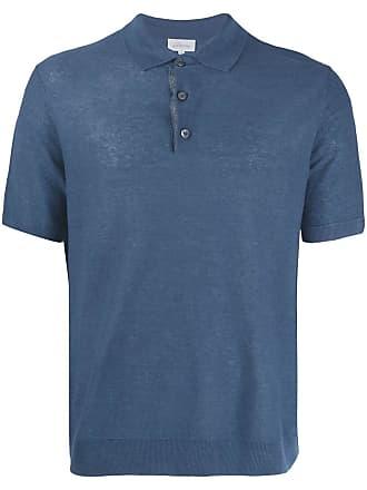 Brioni Camisa polo texturizada - Azul