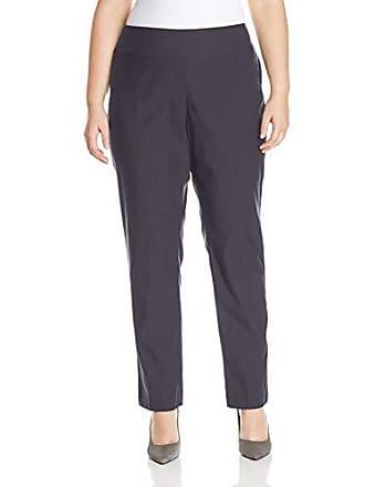 Nic+Zoe Womens Plus Size Wonderstretch Pant, Ink, 18w