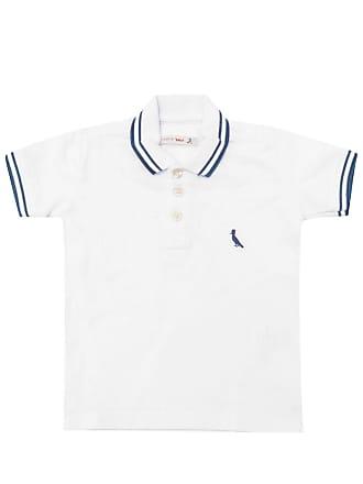 Reserva Mini Camisa Polo Reserva Mini Menino Liso Branca