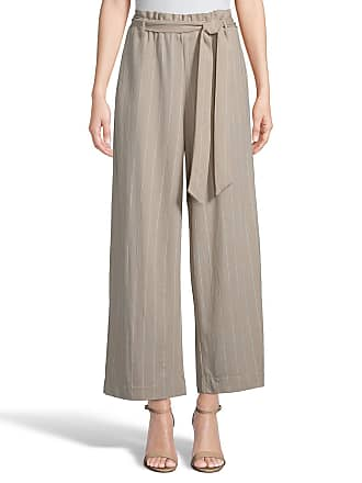 5twelve Striped Ankle Pants with Self-Tie Belt