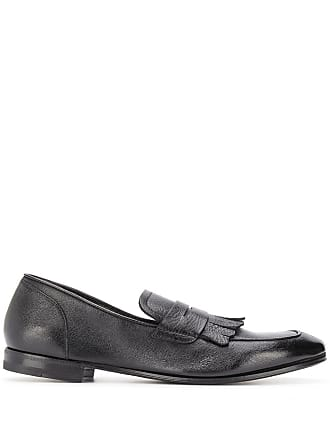 Henderson Baracco fringed leather loafers - Preto