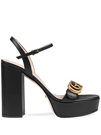9dd6123c007a Gucci Platform sandal with Double G - Black