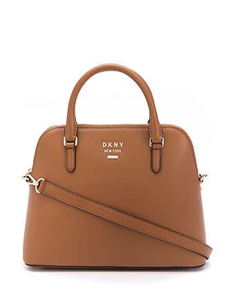 DKNY large Whitney dome bag - Marrom