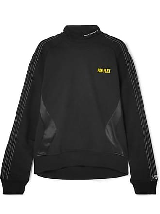 2d47d9907c1 adidas Originals by Alexander Wang Printed Embroidered Cotton-terry And  Satin-jersey Sweatshirt -