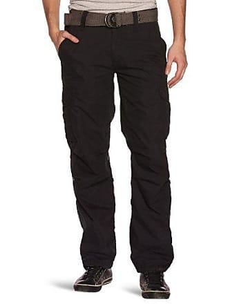 20bd562f7b03f Schott NYC Schott Nyc Cargous70 Pantalon, Noir (Black), W28 (Taille  Fabricant