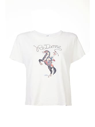 Re/Done Camiseta The Classic Cowgirl - Branco