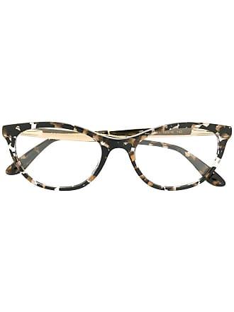 Dolce & Gabbana Eyewear Armação de óculos gatinho - Marrom