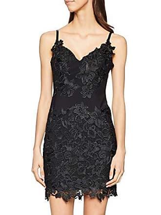 d82924de0da8 Guess Sibilla Dress Vestito Elegante, Nero (Jet Black A996 Jblk), Medium (