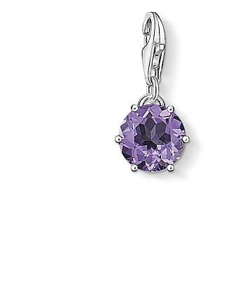 Thomas Sabo Thomas Sabo Charm pendant birth stone February violet 1255-163-13