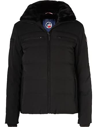 Fusalp Whistler Faux Fur-lined Quilted Hooded Down Ski Jacket - Black fb859464f