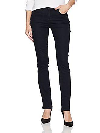 Jones New York Womens Madison Slim Denim Jean, Midnight Blue, 10