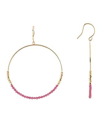 Gorjana Laguna Stone Bead Hoop Earrings