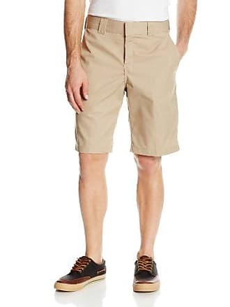 Dickies Mens 11 Inch Relaxed Fit Stretch Twill Work Short, Desert Sand, 38